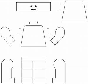 paper lego man template google search letter 39l With lego figure template