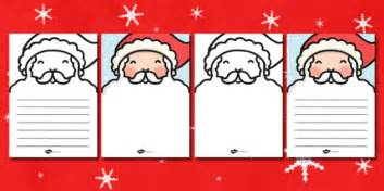 father christmas beard letter writing template father
