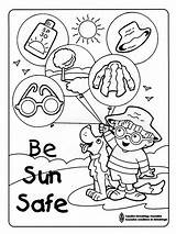 Safety Coloring Pages Colors Recommended sketch template