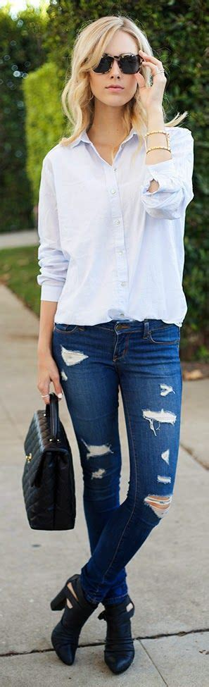 Slayers! Here Are 5 Wavy Ways To Rock A Distressed/Ripped Jean (PHOTOS) u00bb Thesheet.ng