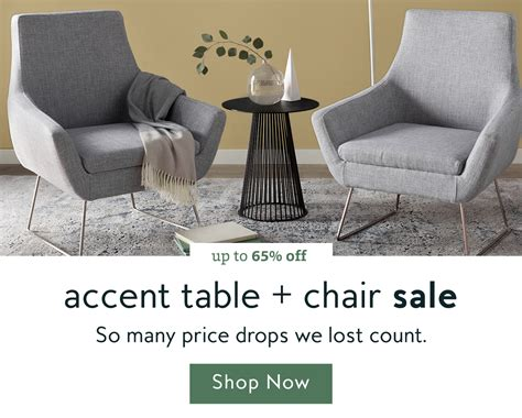 wayfair says go the accent chair sale is on milled