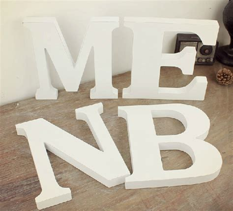 white wooden letters popular big wooden letters buy cheap big wooden letters