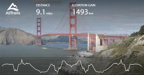 california coastal trail lands   golden gate bridge