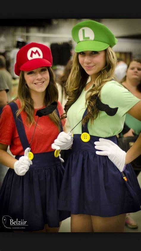 mario und luigi kostüm selber machen top 18 best friend costume design unique