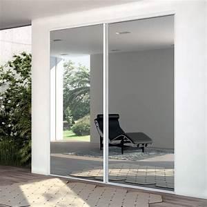 Porte Coulissante Miroir : ykario les solutions rangement ~ Carolinahurricanesstore.com Idées de Décoration