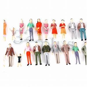 Maßstab Berechnen Modellbau : 100 stk modellbau figuren 1 32 miniatur modellbau zubeh r spur 1 menschen bemalt ebay ~ Themetempest.com Abrechnung