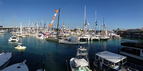 Miami Boat Show Strictly Sail by Hookey Day At The Miami Boat Show The Sailing Rode