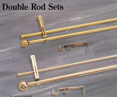curtain rods drapery rods hardware tie backs sets