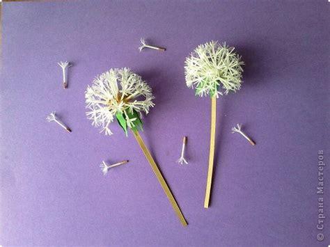 beautiful paper dandelions