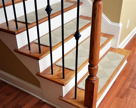 stair tread runners lowes stair tread covers wood home depot all images retrotread