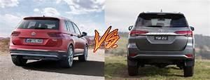 Volkswagen Tiguan Vs Toyota Fortuner