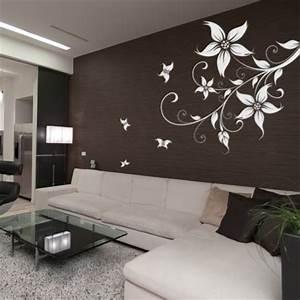 les tendances de la deco murale hexoa With déco chambre bébé pas cher avec expedition fleurs