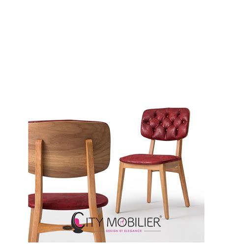 chaise en bois chaise vintage en bois valente city mobilier