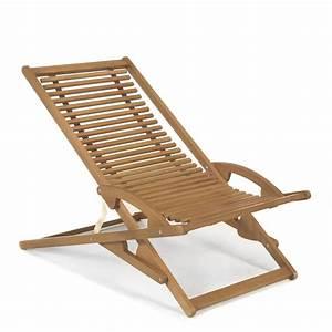 Chilienne En Bois : chaise longue de jardin basculante chilienne naturel mac o les bains de soleil et transats ~ Teatrodelosmanantiales.com Idées de Décoration