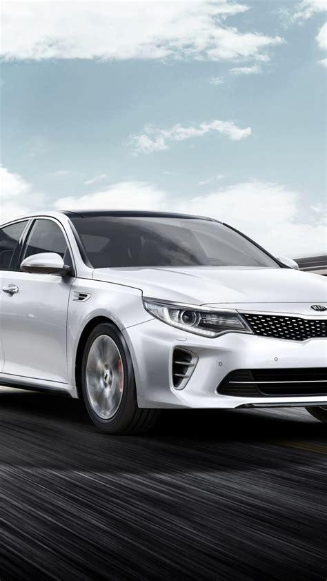 Wallpaper Kia Optima Gt, Supercar, White, Luxury Cars