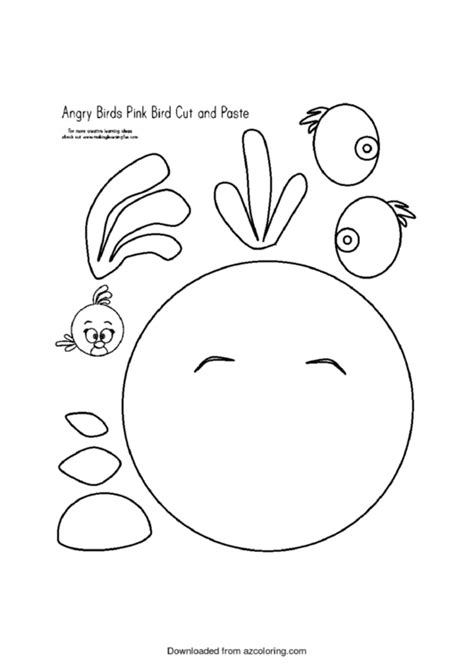 cut  angry birds template printable