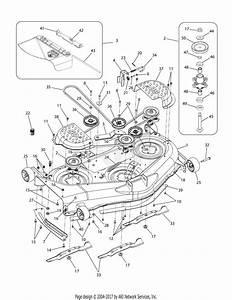 Troy Bilt 17af2acp011 Mustang Rzt 50  2008  Parts Diagram