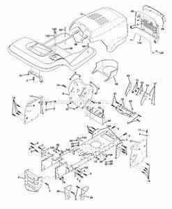 Husqvarna Lt 130 Parts List And Diagram