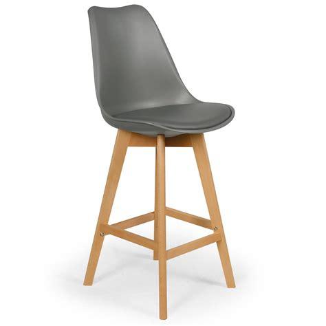 les chaises hautes chaise haute scandinave orna gris lestendances fr