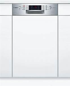 Lave Vaisselle Bosch Serie 6 : lave vaisselle 45 cm int grable inox serie 6 spi69t75eu bosch ~ Farleysfitness.com Idées de Décoration