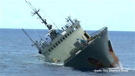 gesunkenes fischereischiff umweltschuetzer retten wilderer