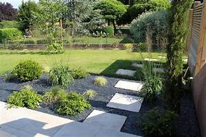 amenagement paysager With amenagement petit jardin mediterraneen 4 jardins mediterraneens mediterraneen jardin other