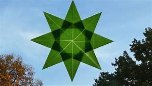 Sterne Aus Papier Falten : sterne basteln zu weihnachten fenstersterne falten einfach youtube ~ Buech-reservation.com Haus und Dekorationen