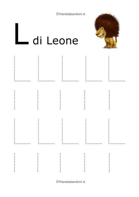 La Da L by Imparare A Scrivere Le Lettere Dell Alfabeto