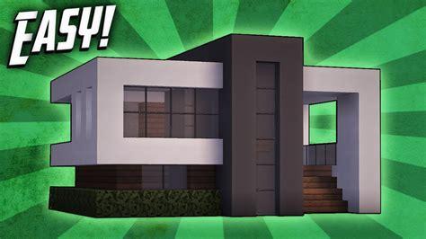 minecraft   build  small modern house tutorial  clipzuicom