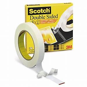 Adhésif Double Face : ruban adh sif double face amovible scotch fournitures de ~ Edinachiropracticcenter.com Idées de Décoration