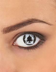 Farbige Kontaktlinsen Auf Rechnung : kontaktlinsen spielkarte schminke und g nstige faschingskost me vegaoo ~ Themetempest.com Abrechnung