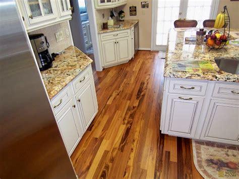 kitchen floor covering koa tigerwood hardwood installation 1628