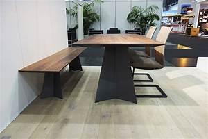 Esstisch Mit Bank : elegantes design massivholz esstisch massivholz design ~ Lizthompson.info Haus und Dekorationen