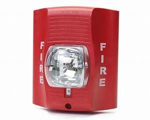 Fire Alarm Strobe Emergency Light With Wifi 1080p Hd Camera
