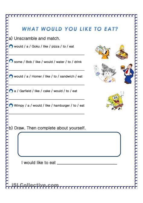 eat  images worksheets worksheets
