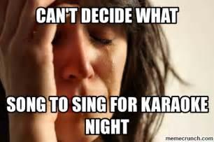 Karaoke Memes - karaoke