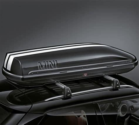 coffre de toit mini cooper coffre de toit 320 litre noir syst 232 mes de portage avec