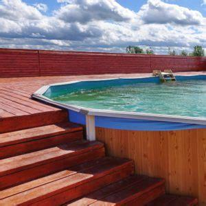 piscine semi enterrée prix piscine semi enterr 233 e une alternative tendance mais 224 quel prix