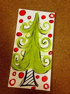 Christmas, Painting, On, Canvas, Ideas, Gorgeous, Diy, Painting