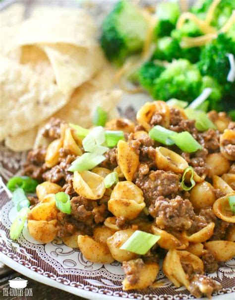 It could be a warm, creamy, cheesy concoction that included a soup version of the cheese sauce, with those wonderful little elbow macaroni swimming around in it, and a. EASY TACO MACARONI AND CHEESE | The Country Cook