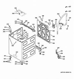 Ge Model Gtwn7450h1ww Residential Washers Genuine Parts
