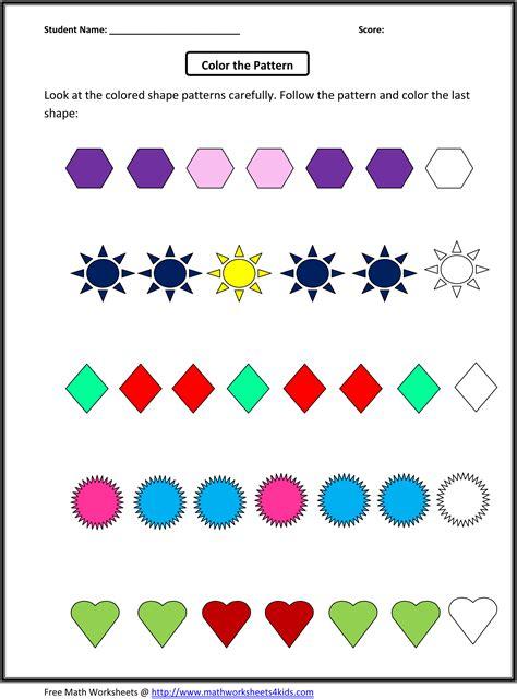 math patterns grade   patterns