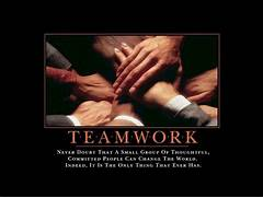 Teamwork     Never doubt that a small group of thoughtful  committed      Teamwork Quotes Tumblr