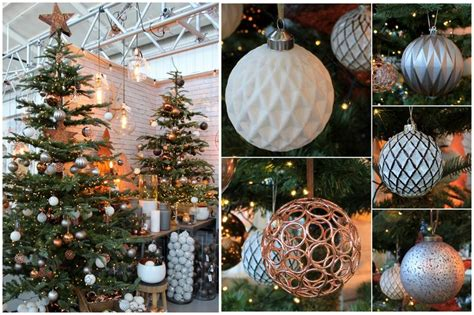 urban industrial copper christmas tree theme