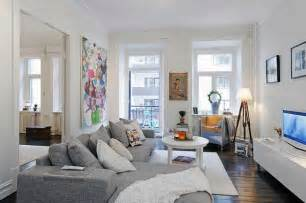 Small Living Room Decorating Ideas Cozy Swedish Apartment With Charming Wood Burning Fireplace Freshome