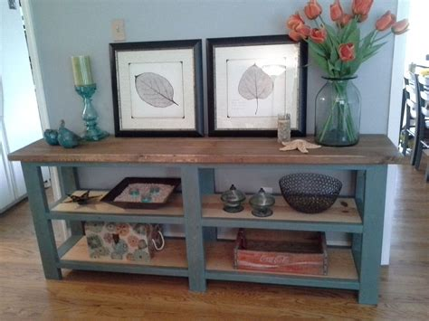 rustic console   project    home