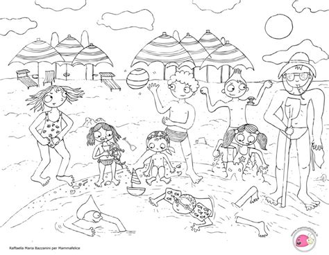 disegni da colorare mare per bambini disegno da colorare bambini al mare disegni mammafelice