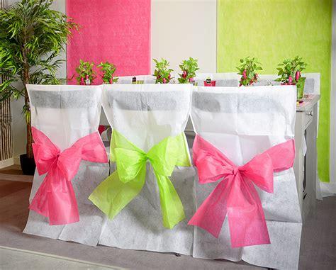 housse de chaise en papier le lot de 10 housses de chaise avec noeud couleur