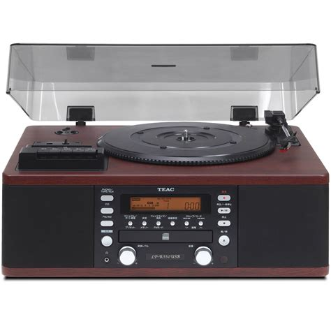 cd cassette recorder teac lpr 550usb turntable with cd lpr550usb b h photo