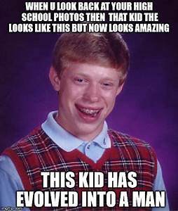 Bad Luck Brian Meme - Imgflip